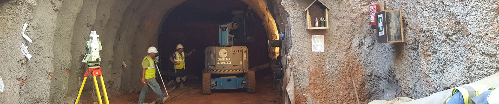 Túnel Plaça de les Glòries Empresa de diseño geotécnico de túneles. Empresa de disseny geotècnic de túnels. Tunnel geotechnical design company.