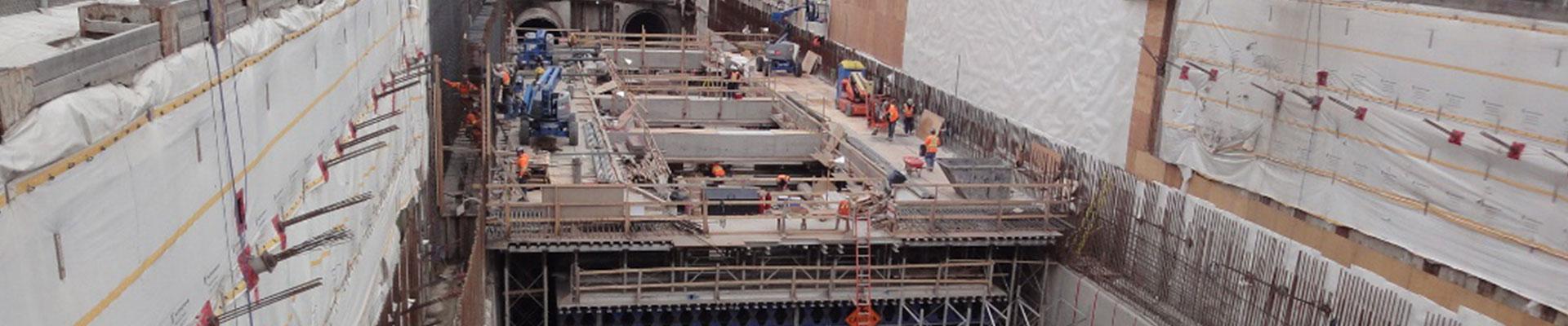 Ampliación-metro-York-Spadina-(Toronto-Canadá) Empresa de diseño geotécnico de túneles. Empresa de disseny geotècnic de túnels. Tunnel geotechnical design company.