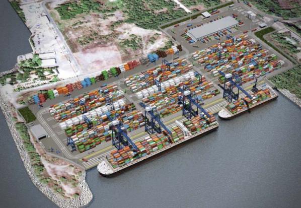 Puerto-Quetzal-(Guatemala) ingeniería geotécnica de puertos. Enginyeria geotècnica de ports Harbour geotechnical engineering