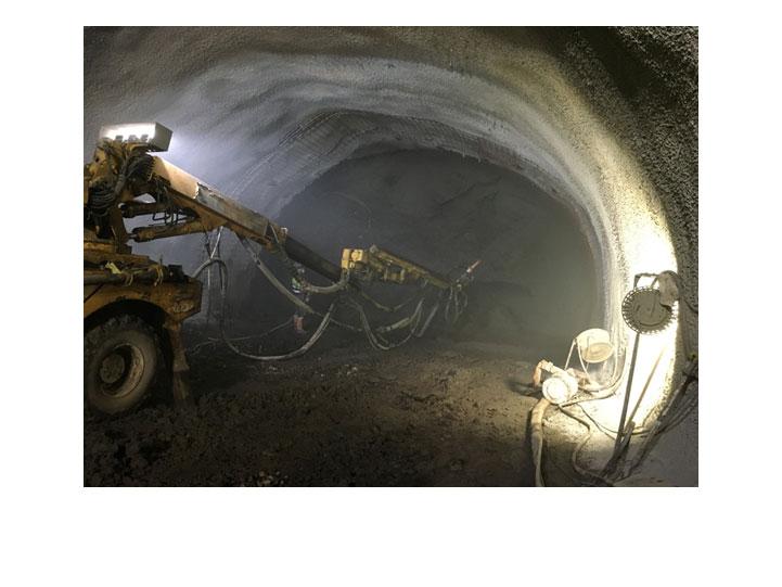 Hormigón proyectado Mina de Suria Diseño de túneles y obras subterráneas Projectes subterranis Underground projects