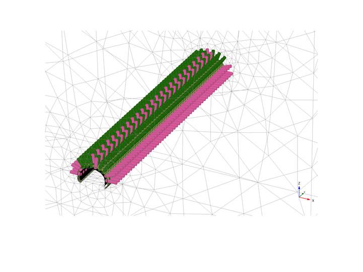 Modelo 3D Túnel mina Súria Diseño de túneles y obras subterráneas Projectes subterranis Underground projects
