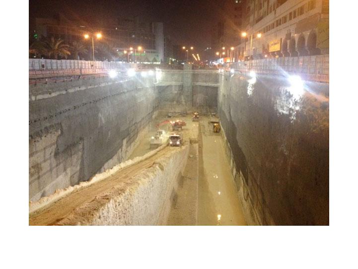 Rampa del Metro de Riyadh Diseño de túneles y obras subterráneas Projectes subterranis Underground projects