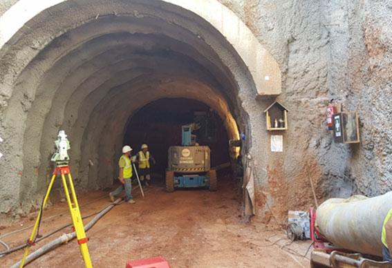 Túnel Plaça de les Glòries