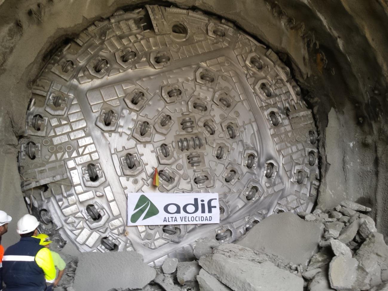 Túnel de Bolaños. Bolaños tunnel high speed rail