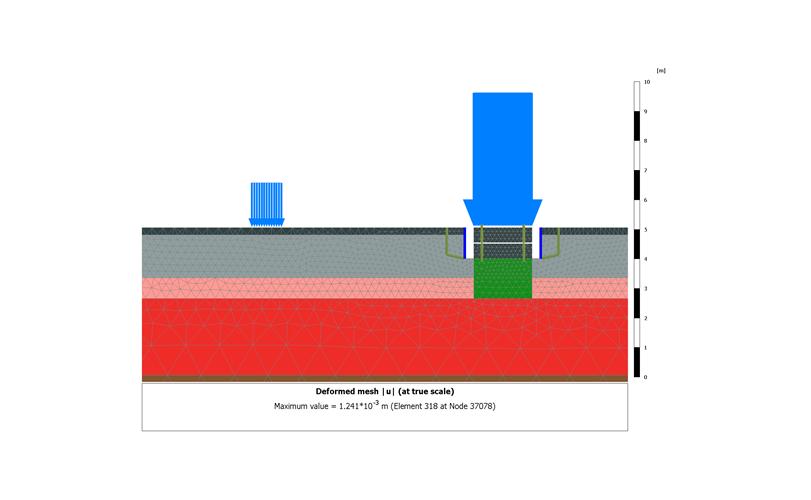 Modelo 2D vibraciones Vestas Ingeniería sísmica Enginyeria sísmica Seismic engineering