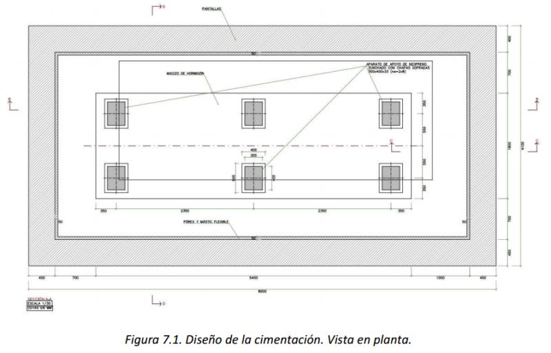 cimentaciones nave de Vestas Fonamentacions nau de Vestas Vestas factory foundations