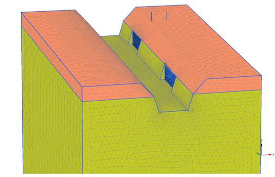 tibidabo progeo 3D plaxis